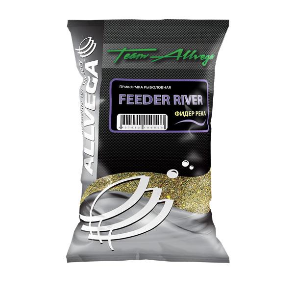 Прикормка Allvega Фидер река, 1 кг