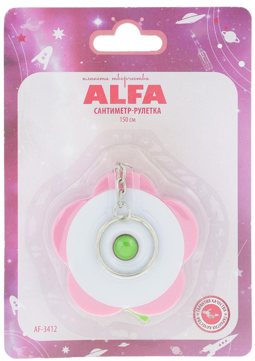 Сантиметр-рулетка Alfa, 150 см. AF-3412