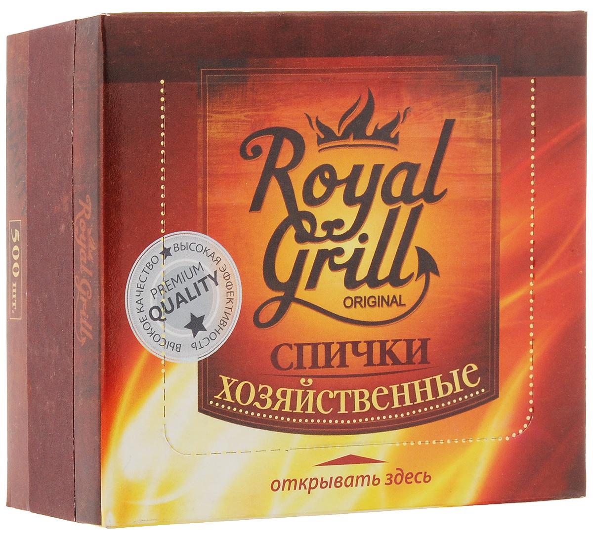 Спички RoyalGrill Хозяйственные, 500 шт