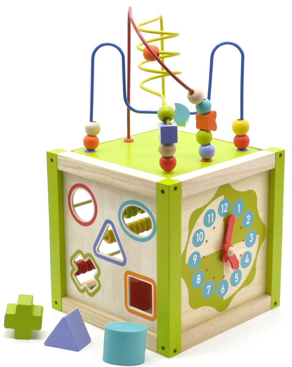 Мир деревянных игрушек Универсальный куб игрушка мир деревянных игрушек куб сафари д373