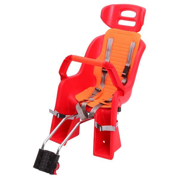 Кресло детское заднее Sunnywheel SW-BC-137, красная накладка. Х69809 флягодержатель sunnywheel sw ch 113 крепление на руль цвет зеленый