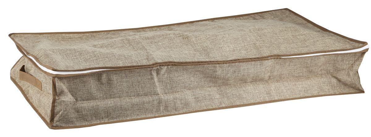цена на Чехол для хранения вещей White Fox Linen, цвет: бежевый, 16 х 45 х 90 см