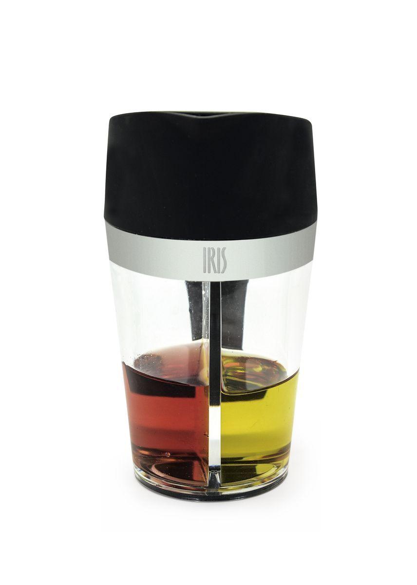 Емкость для масла и уксуса Iris Totkocina, цвет: черный емкость для масла и уксуса iris totkocina цвет черный