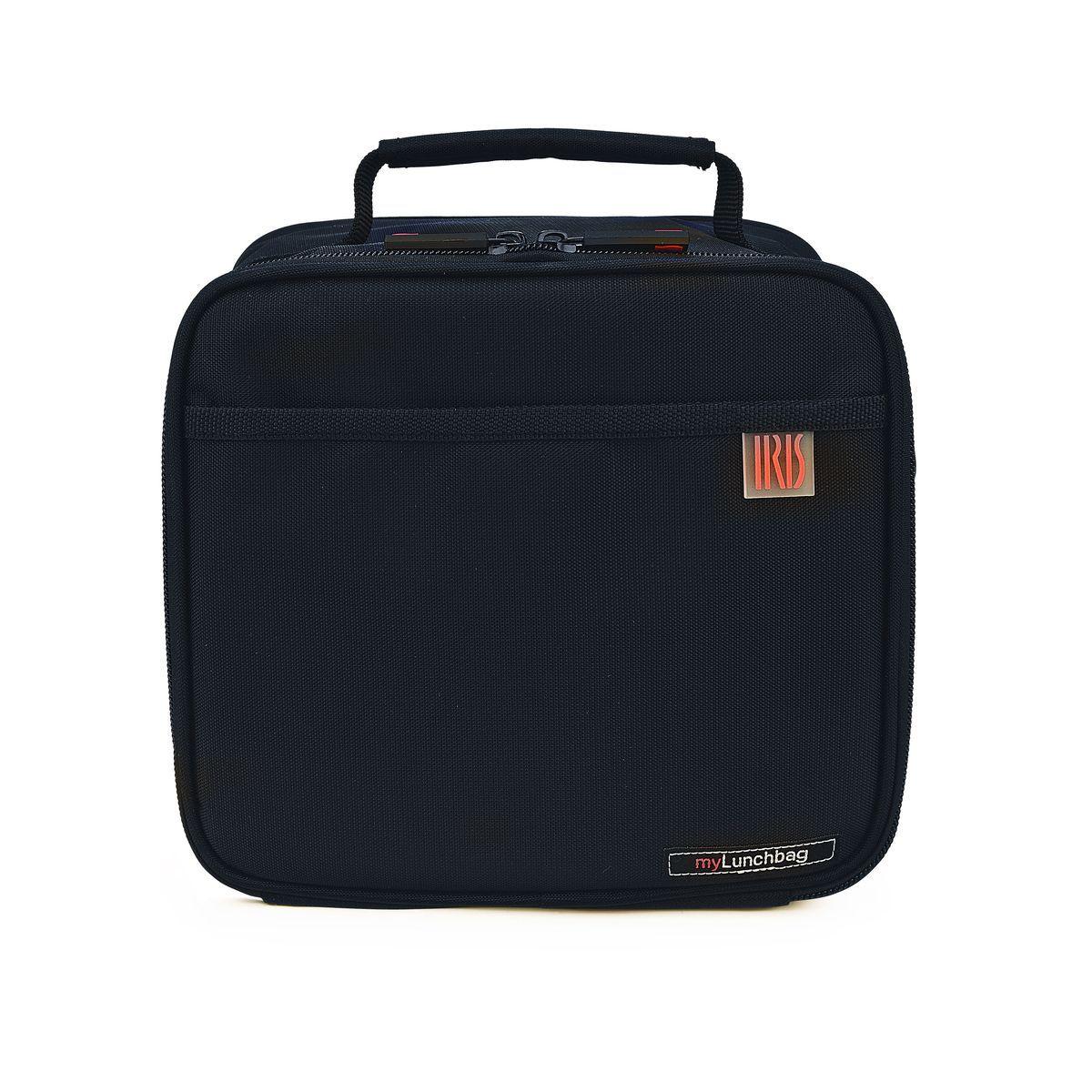 Термо ланч-бокс Iris CLASSIC POCKET MyLunchbag, без контейнеров, цвет: черный термосумка для ланч бокса iris barcelona basic mylunchbag цвет оранжевый