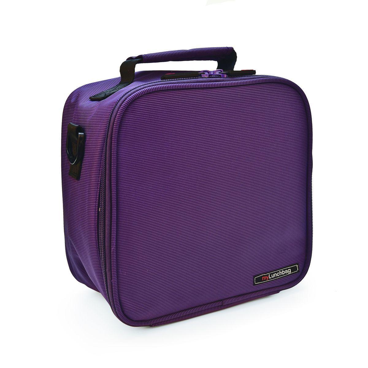 Ланч-бокс Iris Basic MyLunchbag, цвет: фиолетовый, 3,8 л термосумка для ланч бокса iris barcelona basic mylunchbag цвет оранжевый