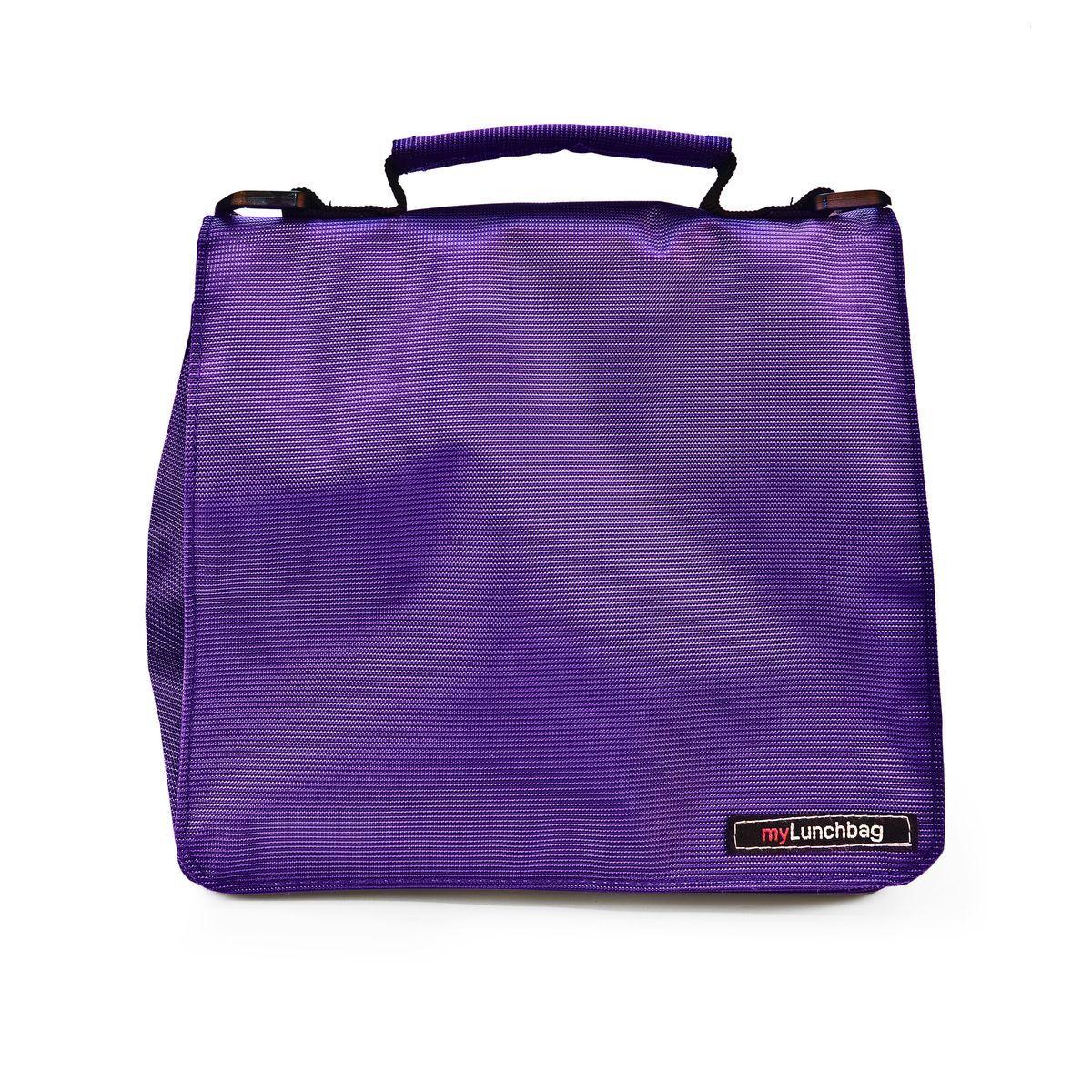 Термосумка для ланч-бокса Iris Smart MyLunchbag, цвет: фиолетовый, 25 х 13 х 20 см термосумка для ланч бокса iris barcelona basic mylunchbag цвет оранжевый