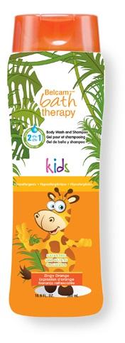 Bath Therapy 2 в 1 Детский гель для душа и шампунь для волос Взрывной апельсин, 500 мл bath therapy 2 в 1 детский гель для душа и шампунь для волос взрывной апельсин 500 мл