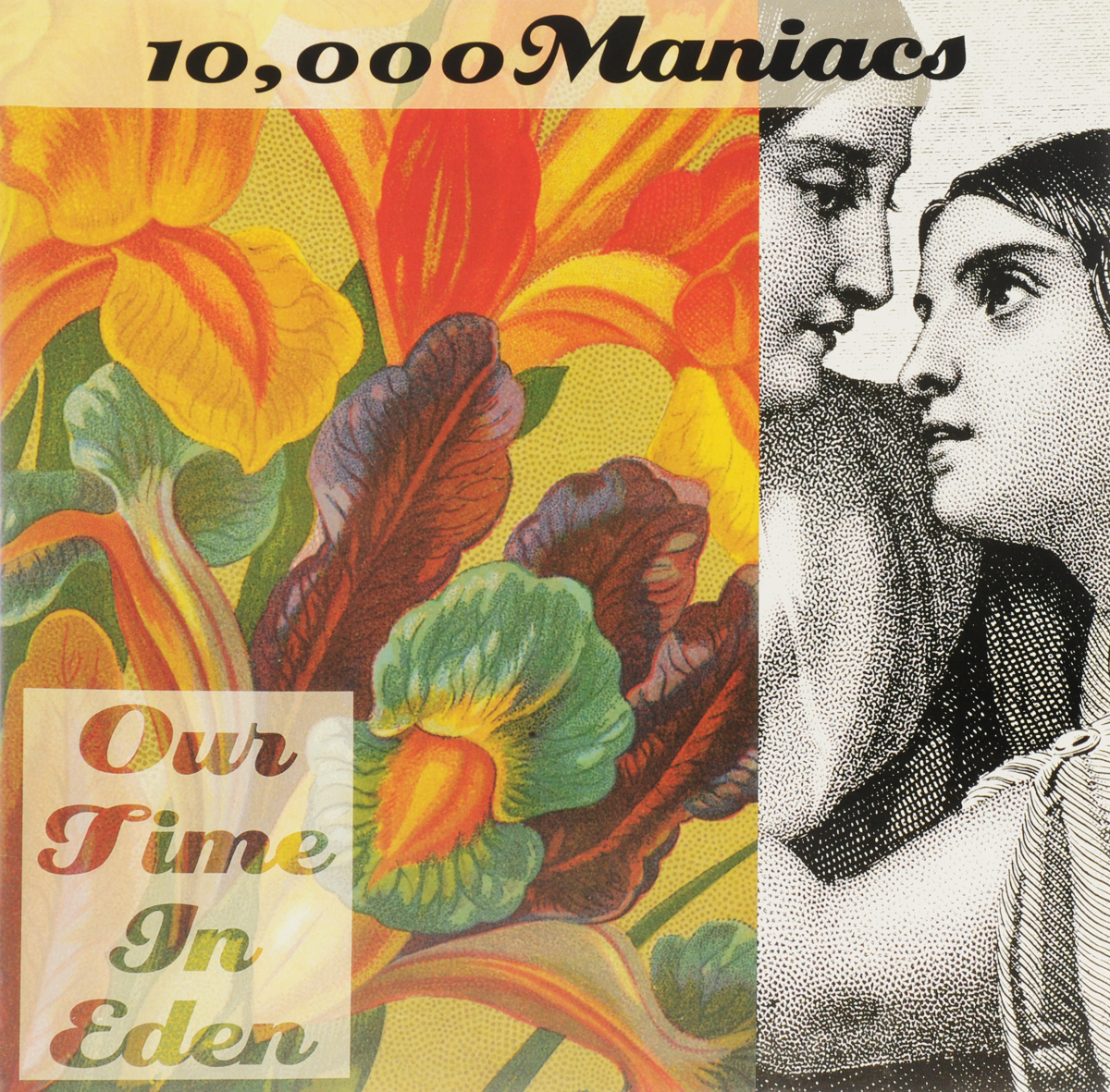 """""""10,000 Maniacs"""" 10,000 Maniacs. Our Time In Eden (LP)"""