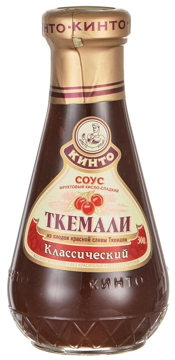 Кинто Ткемали классический соус фруктовый, 300 г соус кинто томатный чахохбили 350 г