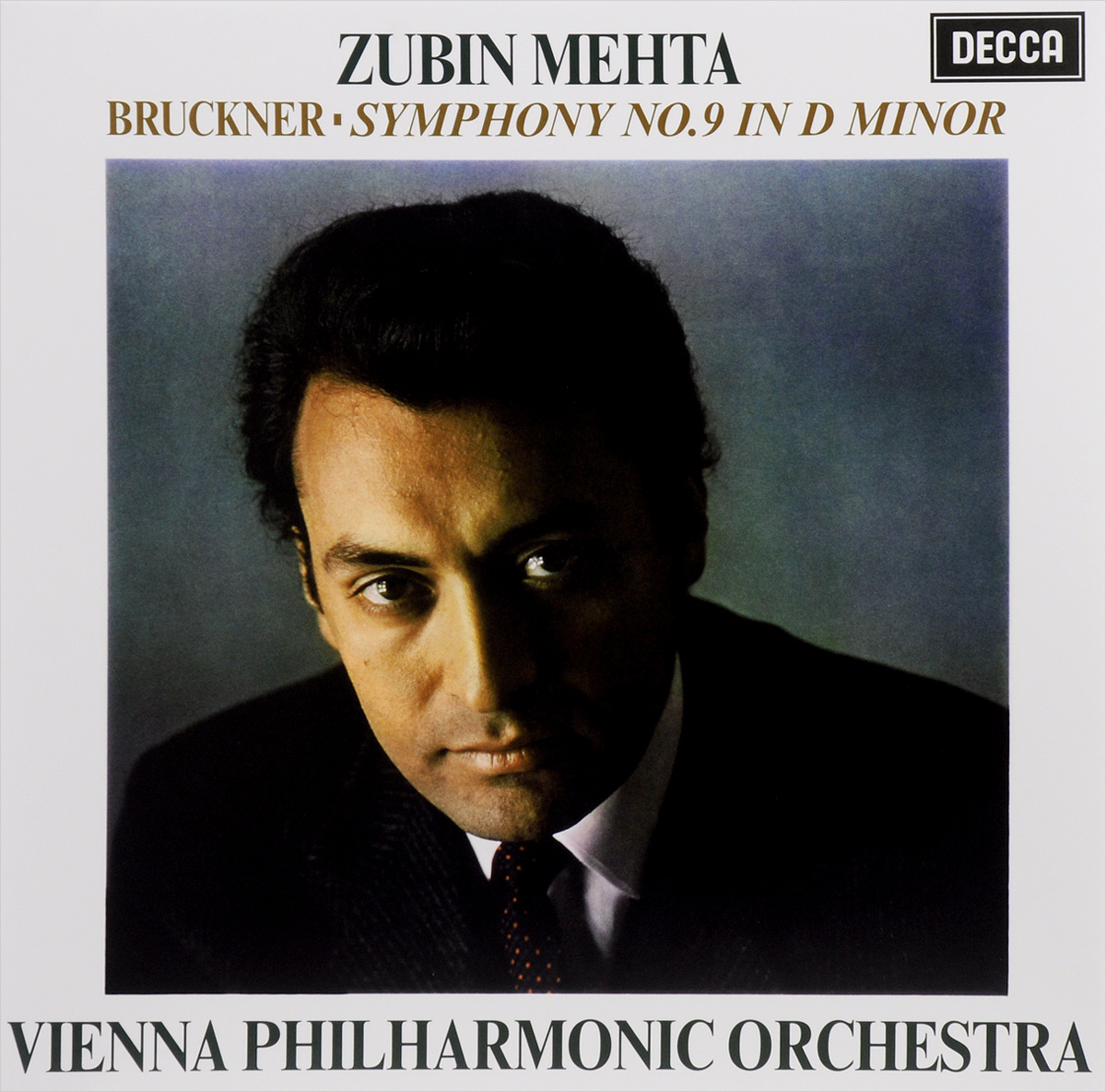 Vienna Philharmonic Orchestra,Зубин Мета Zubin Mehta. Bruckner. Symphony No. 9 In D Minor (LP) los angeles philharmonic orchestra gustav holst los angeles philharmonic orchestra zubin mehta the planets lp