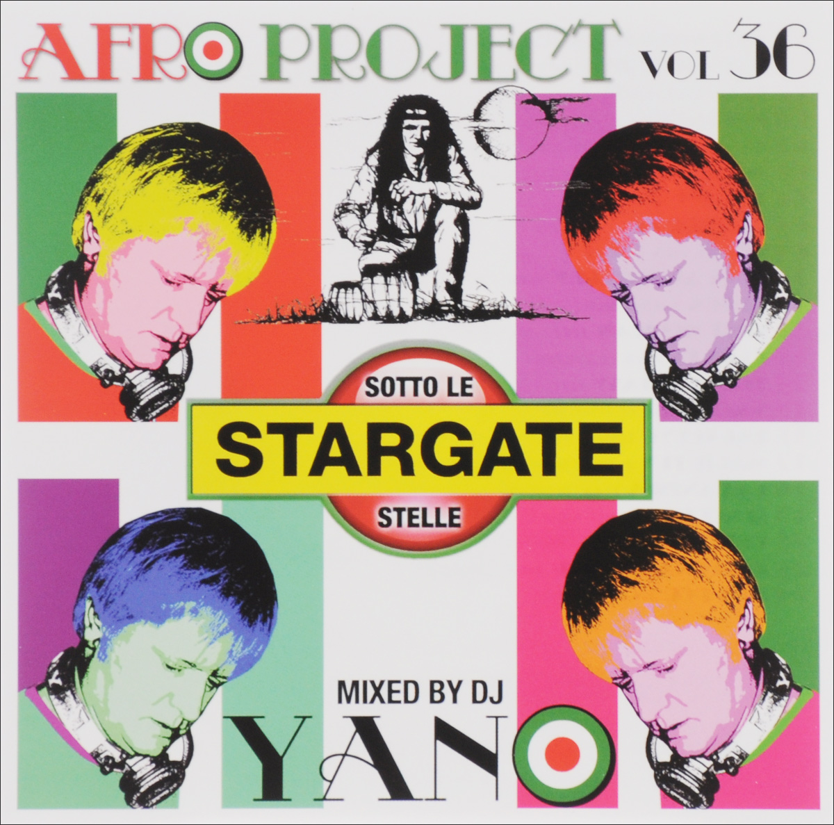 Dj Yano Dj Yano. Afro Project. Vol. 36 цена и фото