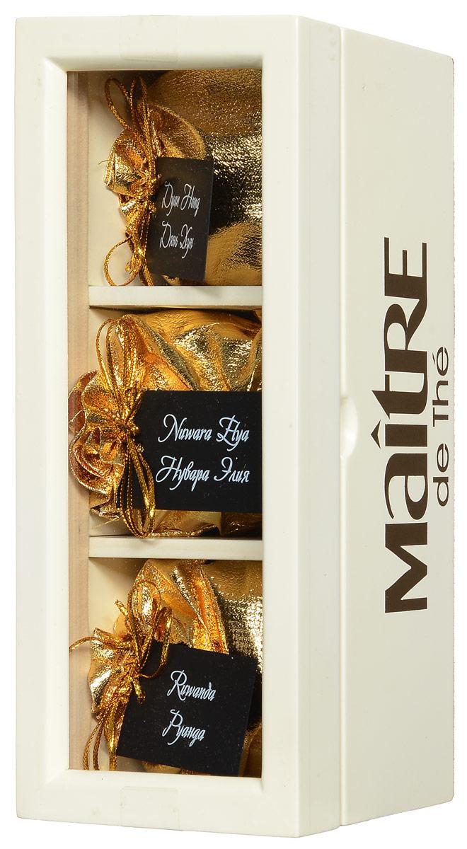 Maitre V.I.P. набор черного листового чая, 90 г maitre восточная сказка набор черного листового чая 60 г