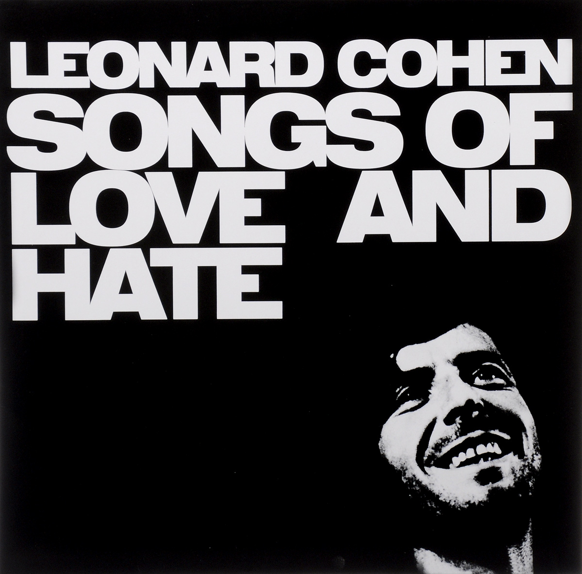 Леонард Коэн Leonard Cohen. Songs Of Love And Hate (LP) leonard cohen leonard cohen songs of love and hate