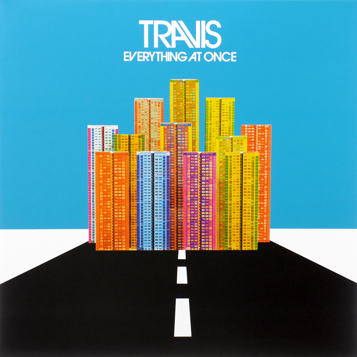 Travis Travis. Everything At Once (LP)