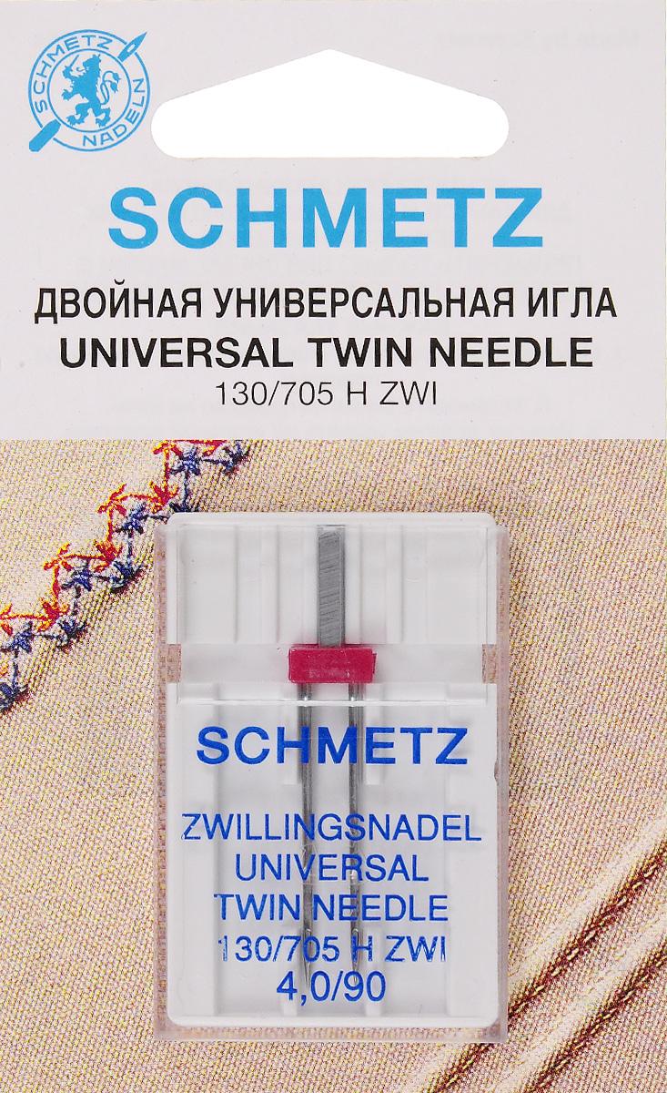 Игла для зигзаг-машин Schmetz, двойная, №90