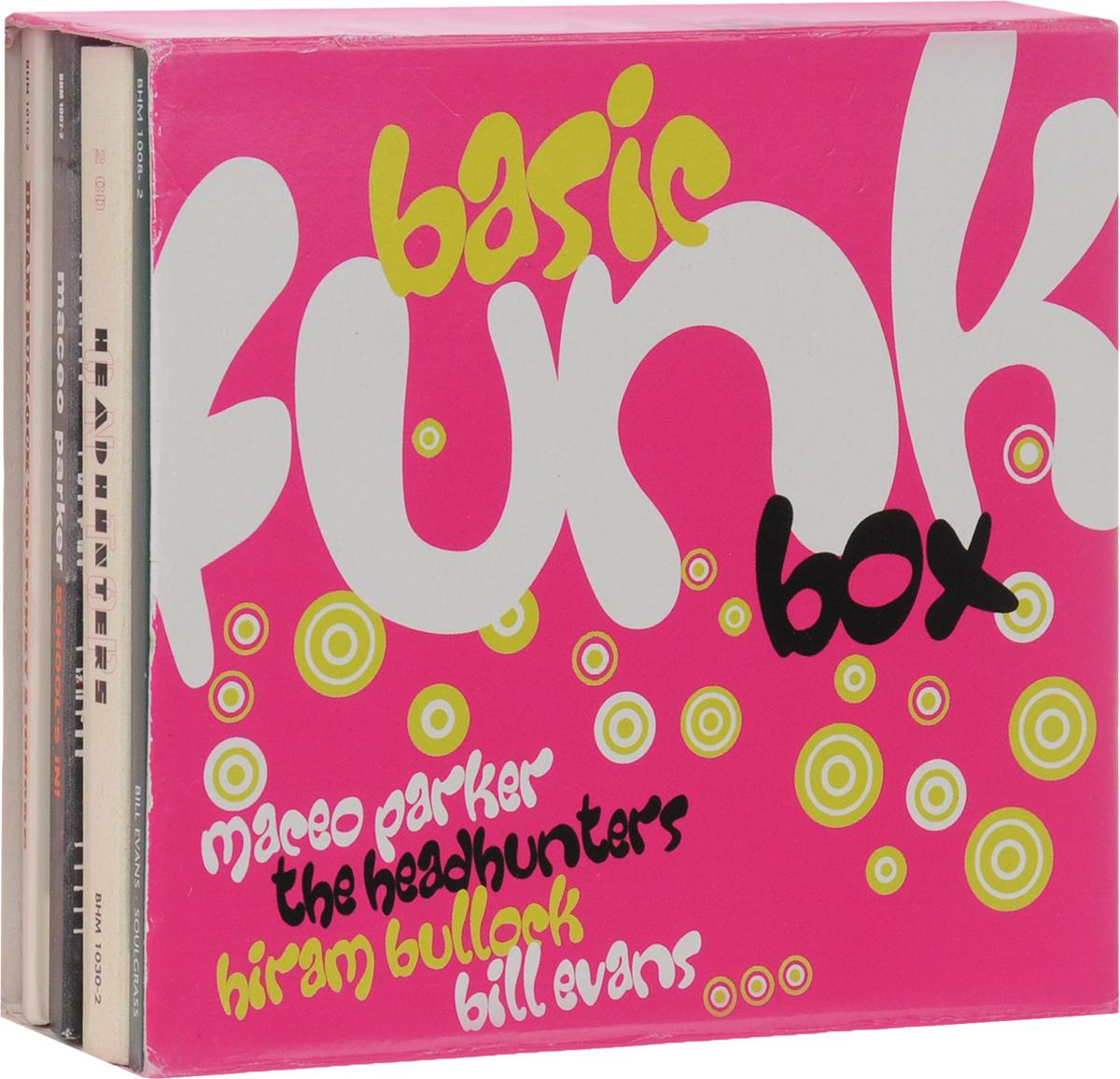 Билл Эванс,The Headhunters,Мэсио Паркер,Хирам Баллок Basic Funk Box (5 CD) эван паркер эванс питер филипп вачсман бэрри гай паул луттон лауренсе кассерлей вальтер прати марко векчи evan parker electro acoustic ensemble the moment s energy