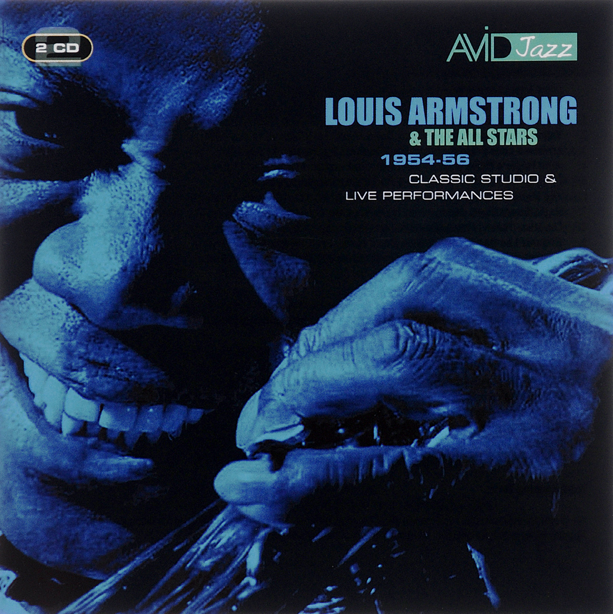 Луи Армстронг,Louis Armstrong & The All Stars Avid Jazz. Louis Armstrong, The All Stars. Louis Armstrong & The All Stars 1954-56 (2 CD) milky disco three to the stars 2 cd