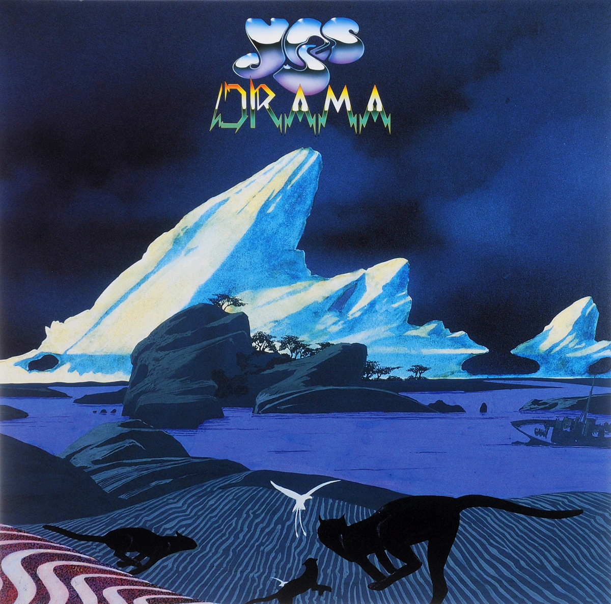 Yes Yes. Drama (LP) yes yes tales from topographic oceans 2 lp