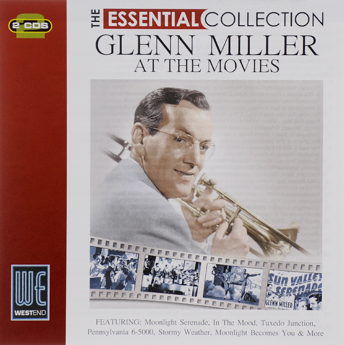 Гленн Миллер The Essential Collection. Glenn Miller. At The Movies (2 CD)