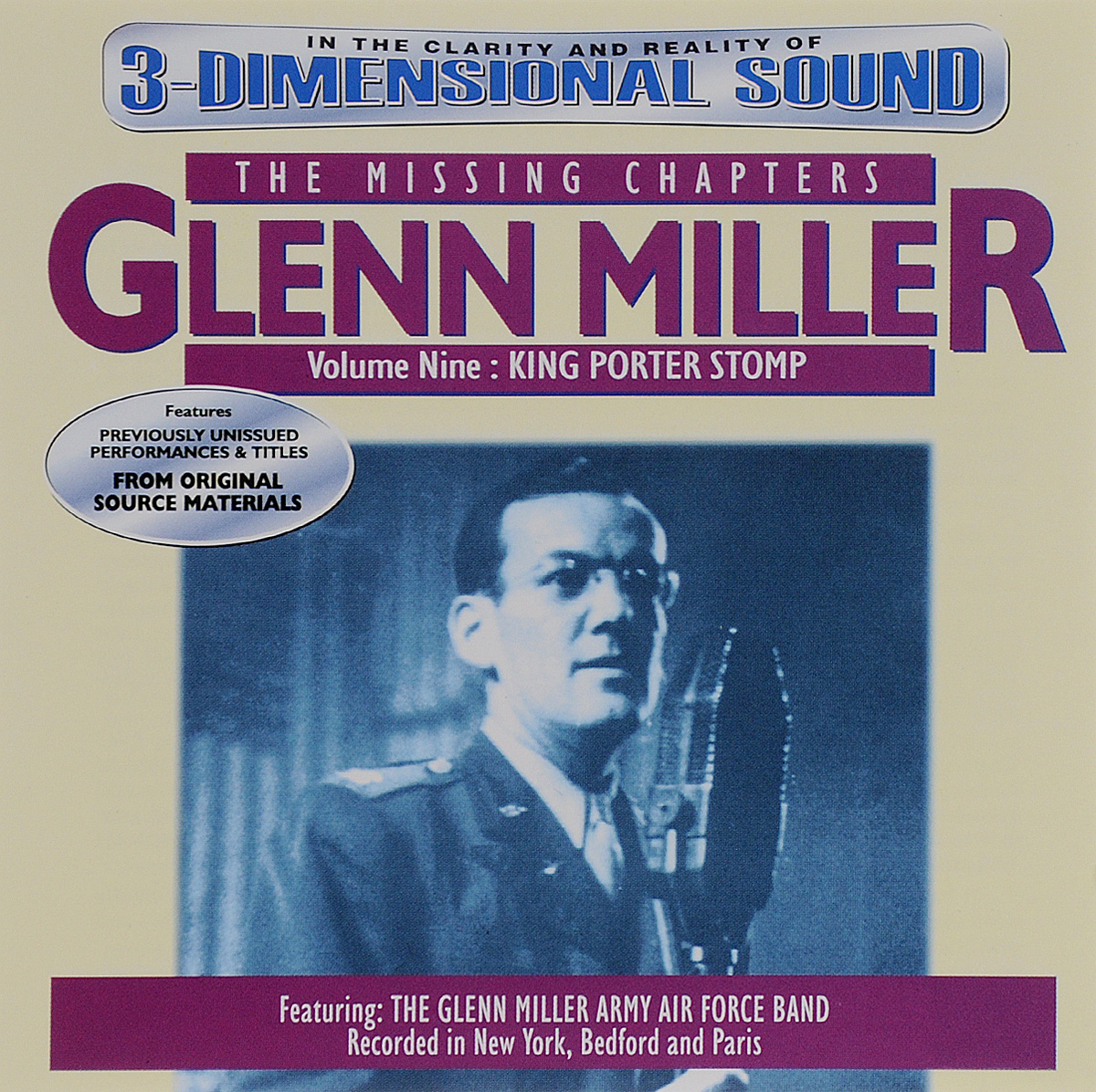 Гленн Миллер Glenn Miller. The Missing Chapters. Volume 9. King Porter Stomp