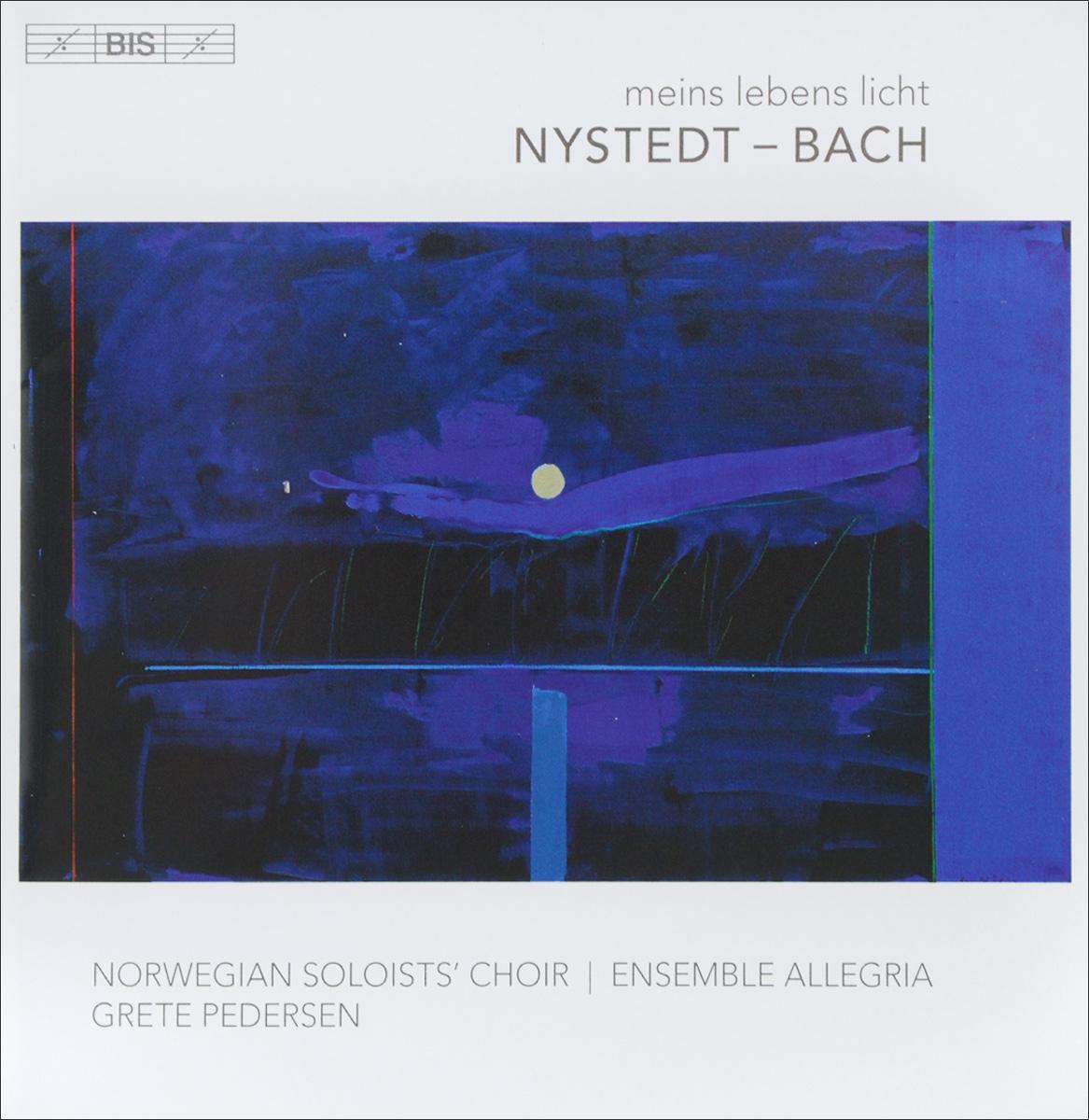 Грете Педерсен,Det Norske Solistkor,Maria Angelika Carlsen,Ensemble Allegria Grete Pedersen. Nystedt / Bach. Meins Lebens Licht (SACD) стоимость