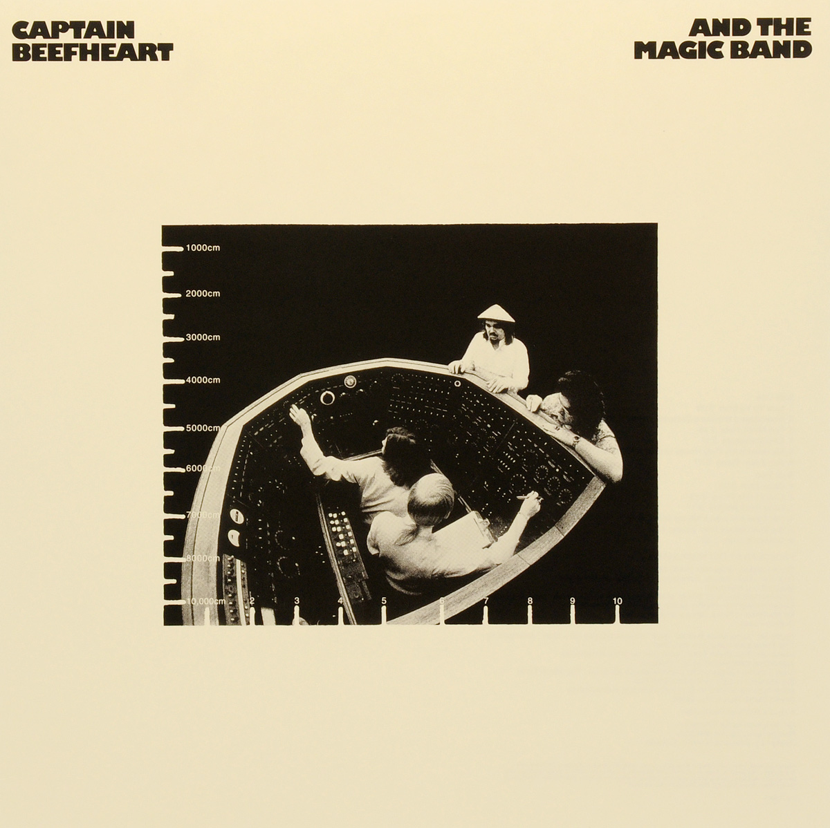 калейдоскоп the captain Captain Beefheart,The Magic Band Captain Beefheart And The Magic Band. Clear Spot (LP)