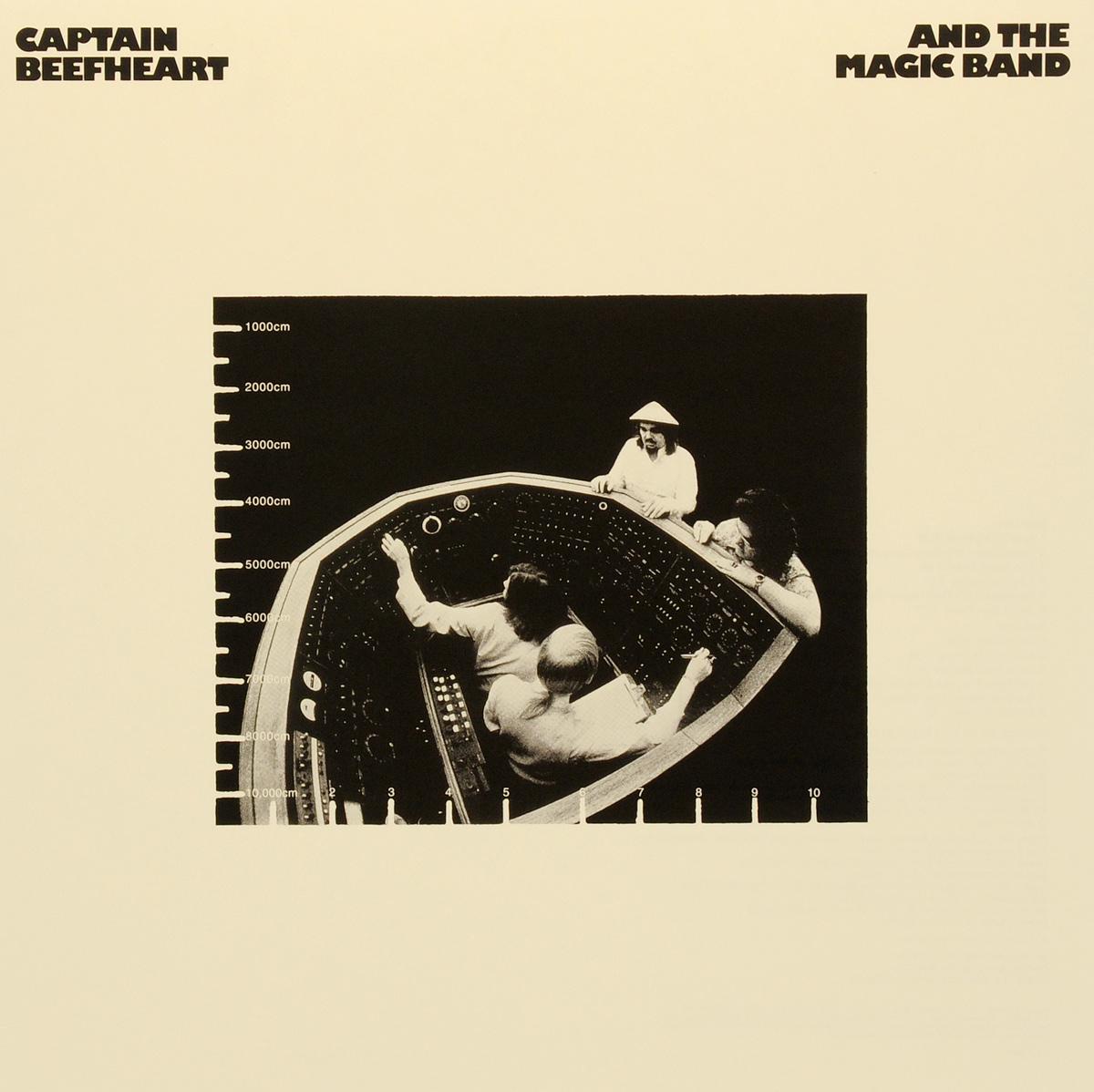 Captain Beefheart,The Magic Band Captain Beefheart And The Magic Band. Clear Spot (LP) the captain