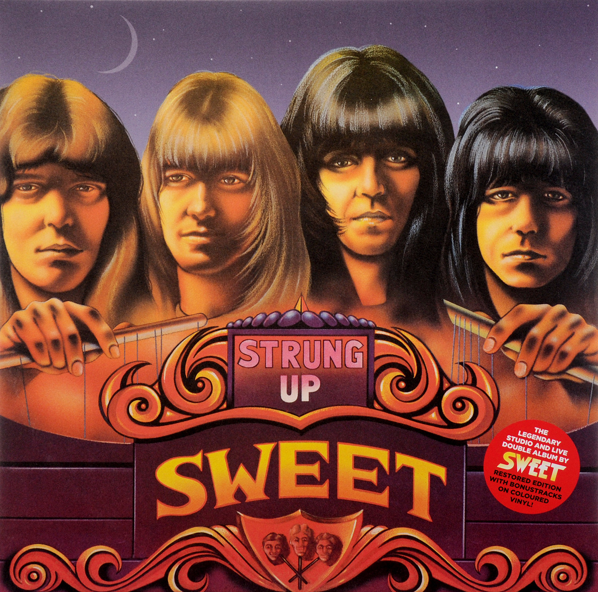 Sweet Sweet. Strung Up. Restored Edition (2 LP) sweet sweet sweet fanny adams new vinyl edition lp