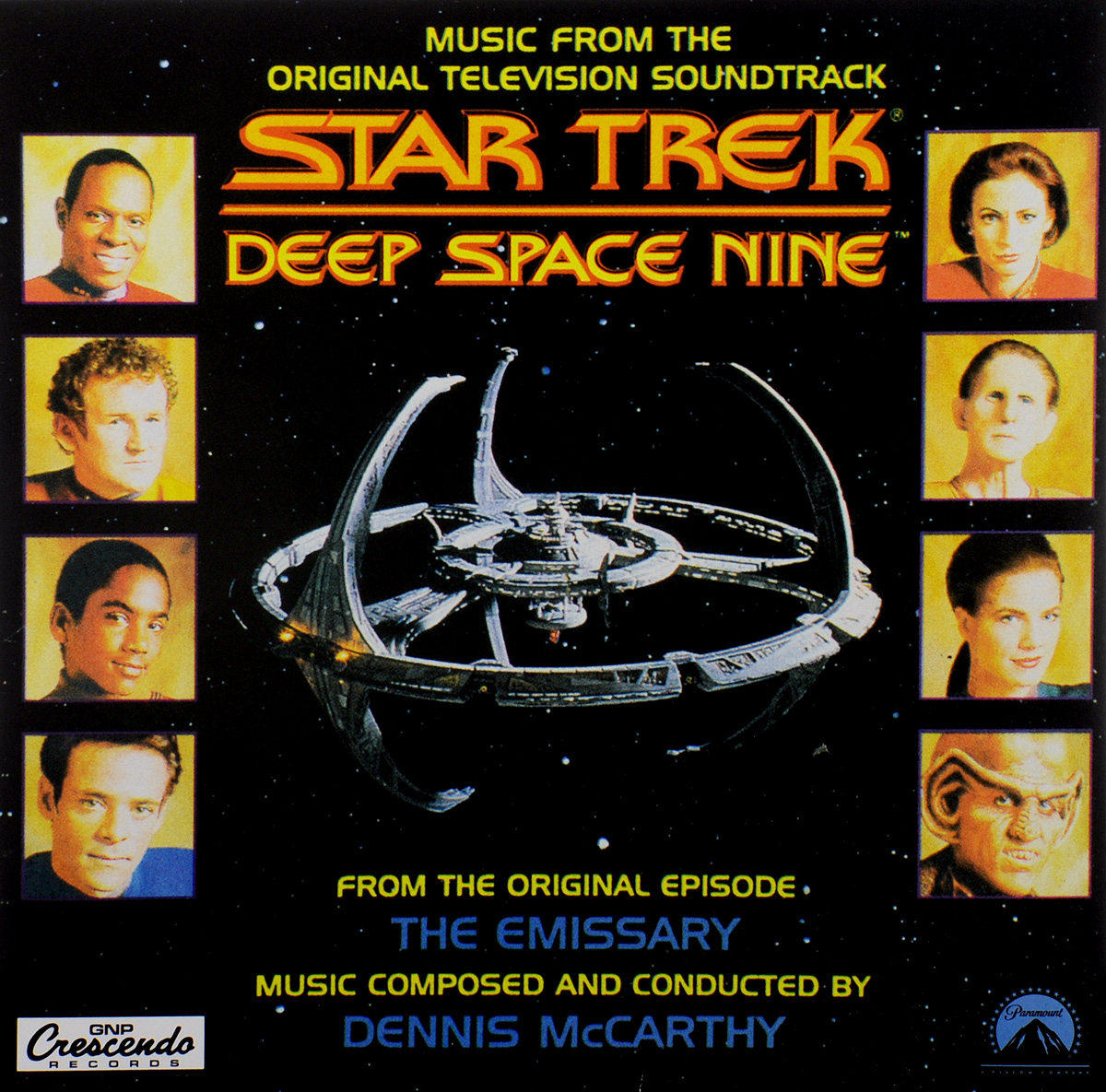 Star Trek. Deep Space Nine. Music From The Original Television Soundtrack (LP) недорого