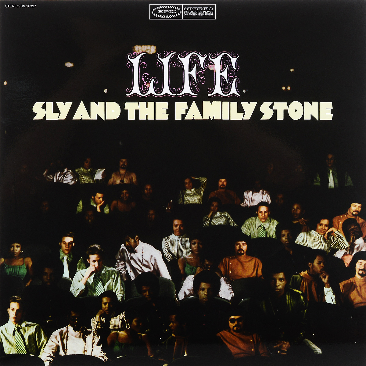 Sly & The Family Stone And Stone. Life (LP)