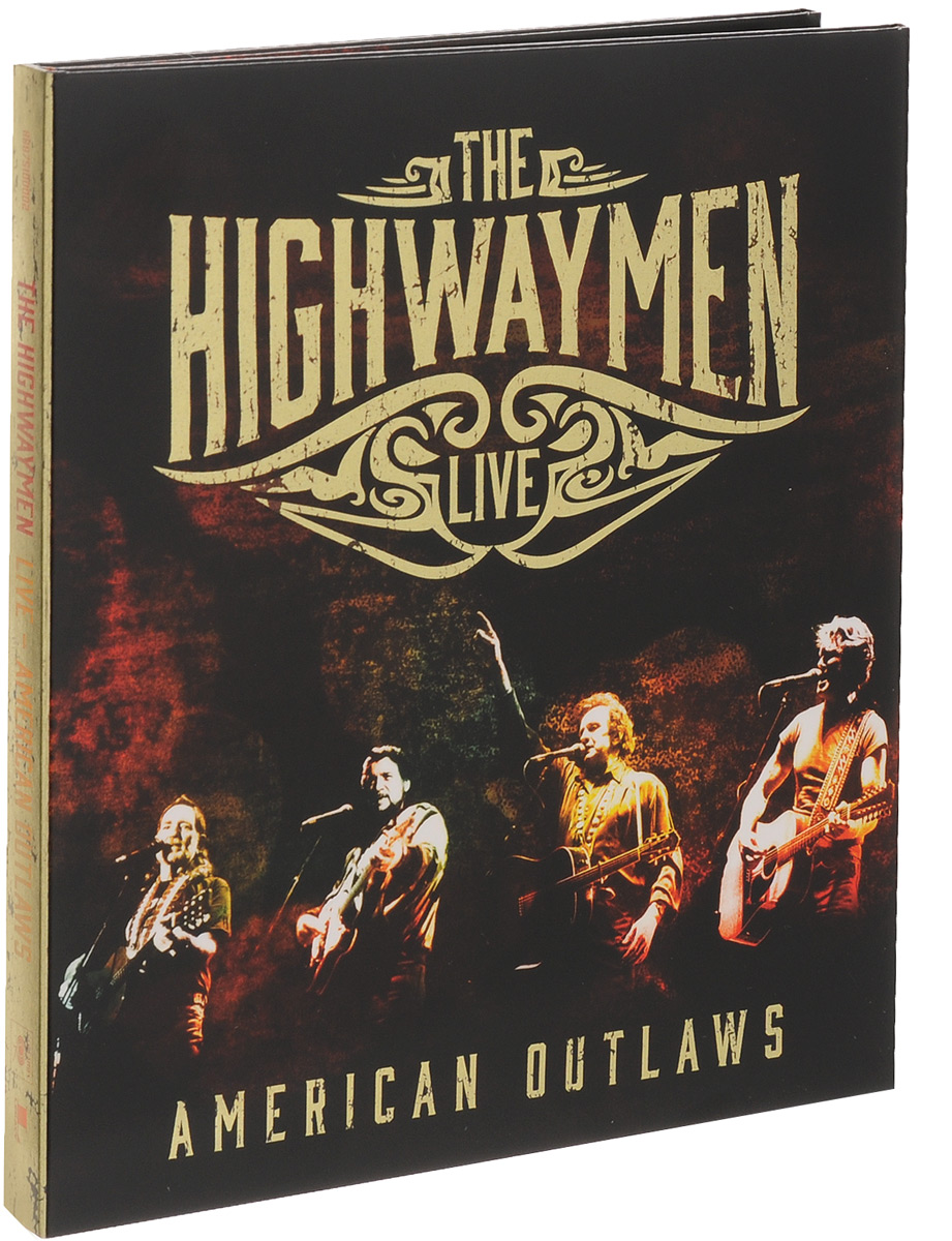 The Highwaymen The Highwaymen. Live - American Outlaws (3 CD + Blu-Ray) kai hansen thank you wacken live blu ray cd