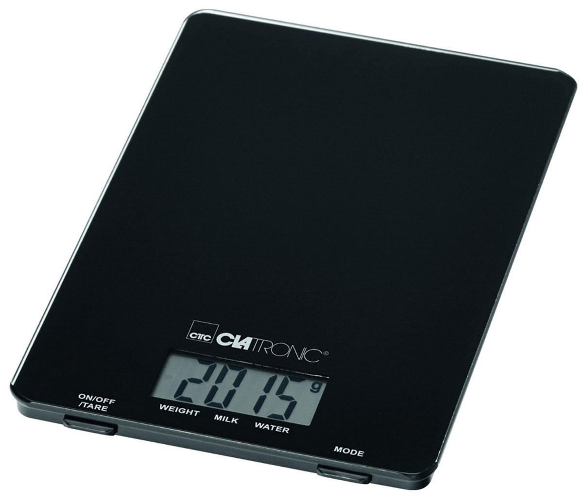 Clatronic KW 3626, Black кухонные весы цены онлайн