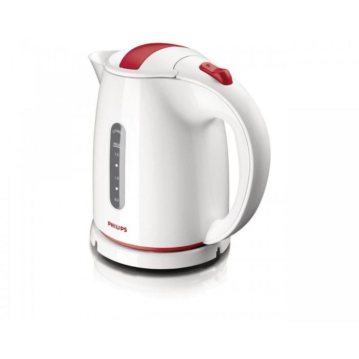 Электрический чайник Philips HD 4646/40, белый, красный