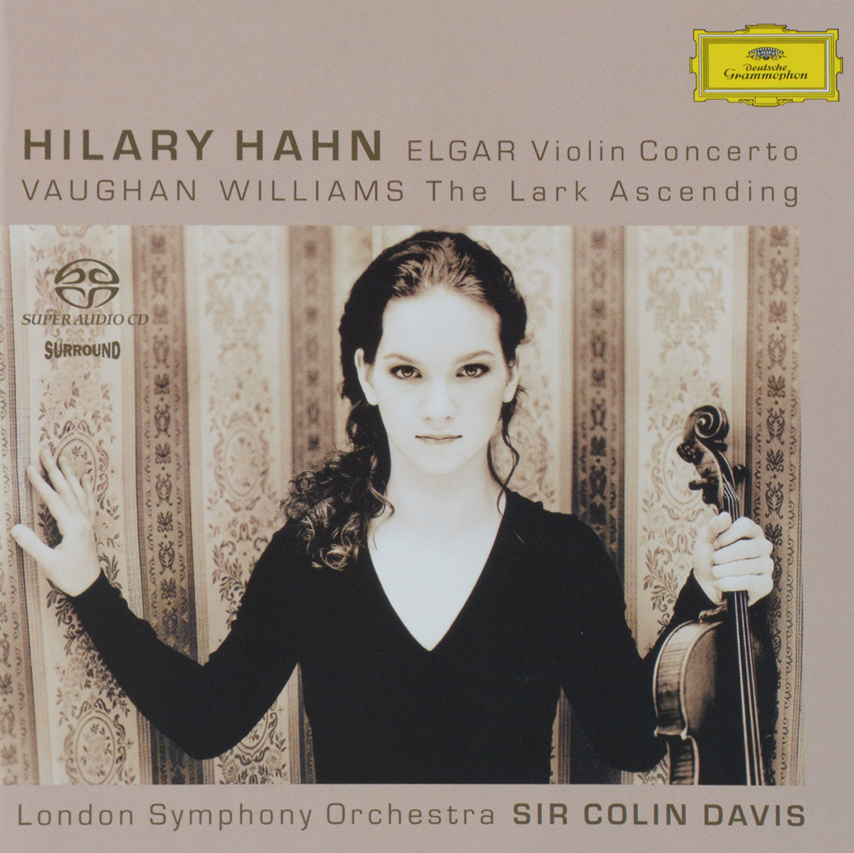 цена на Колин Дэвис,The London Symphony Orchestra Sir Colin Davis. London Symphony Orchestra. Elgar. Violin Concerto / Vaughan Williams. The Lark Ascending (SACD)