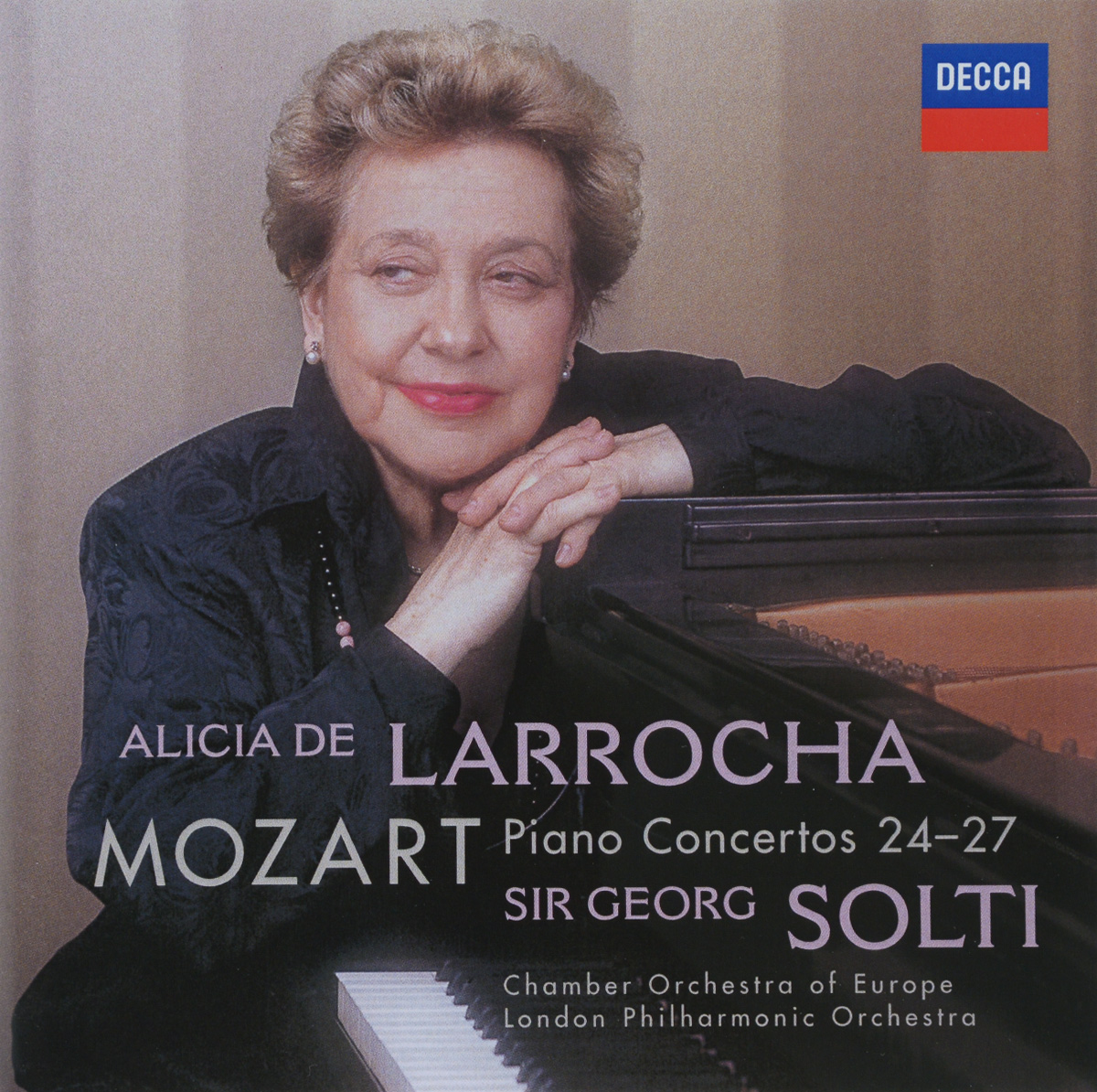 Алисия де Ларроча,Chamber orchestra of the Europe,Джордж Солти,London Philharmonic Orchestra Mozart. Alicia De Larrocha. Piano Concertos 24-27 (2 CD) юджин орманди леопольд стоковский the philadelphia orchestra сергей рахманинов rachmaninoff plays rachmaninoff the four piano concertos 2 cd