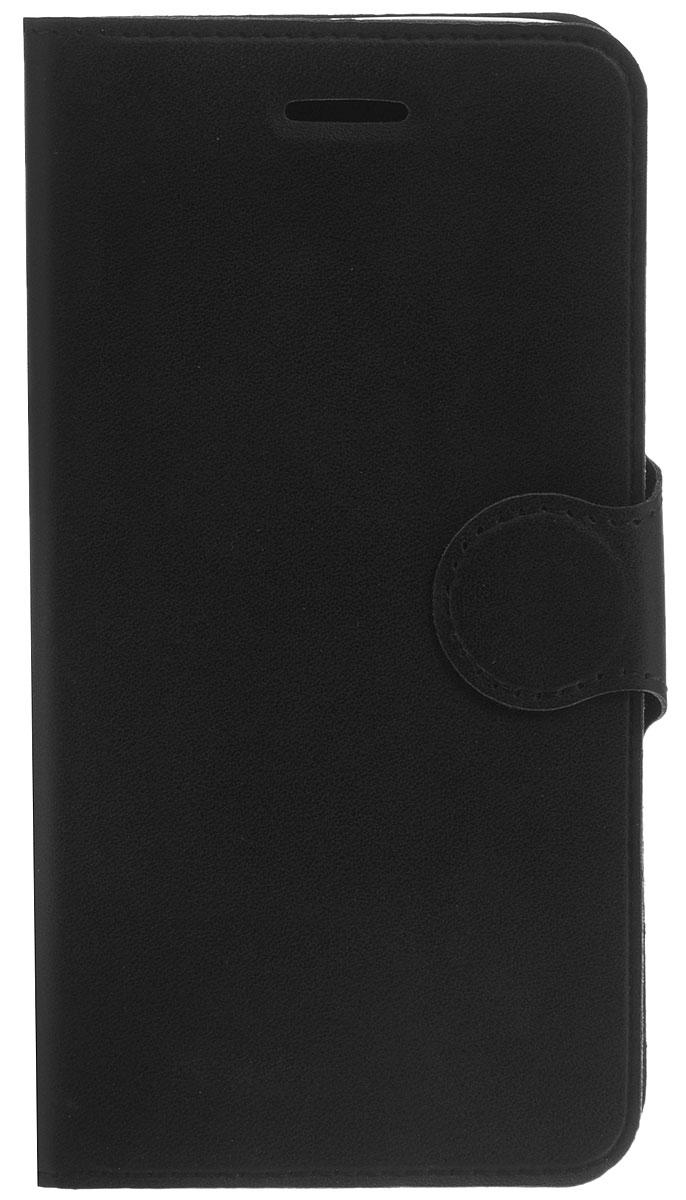 Red Line Book Type чехол-книжка для Samsung Galaxy J5 (2016), Black чехол epik двухслойный ударопрочный с защитными бортами экрана verge для j510f galaxy j5 2016
