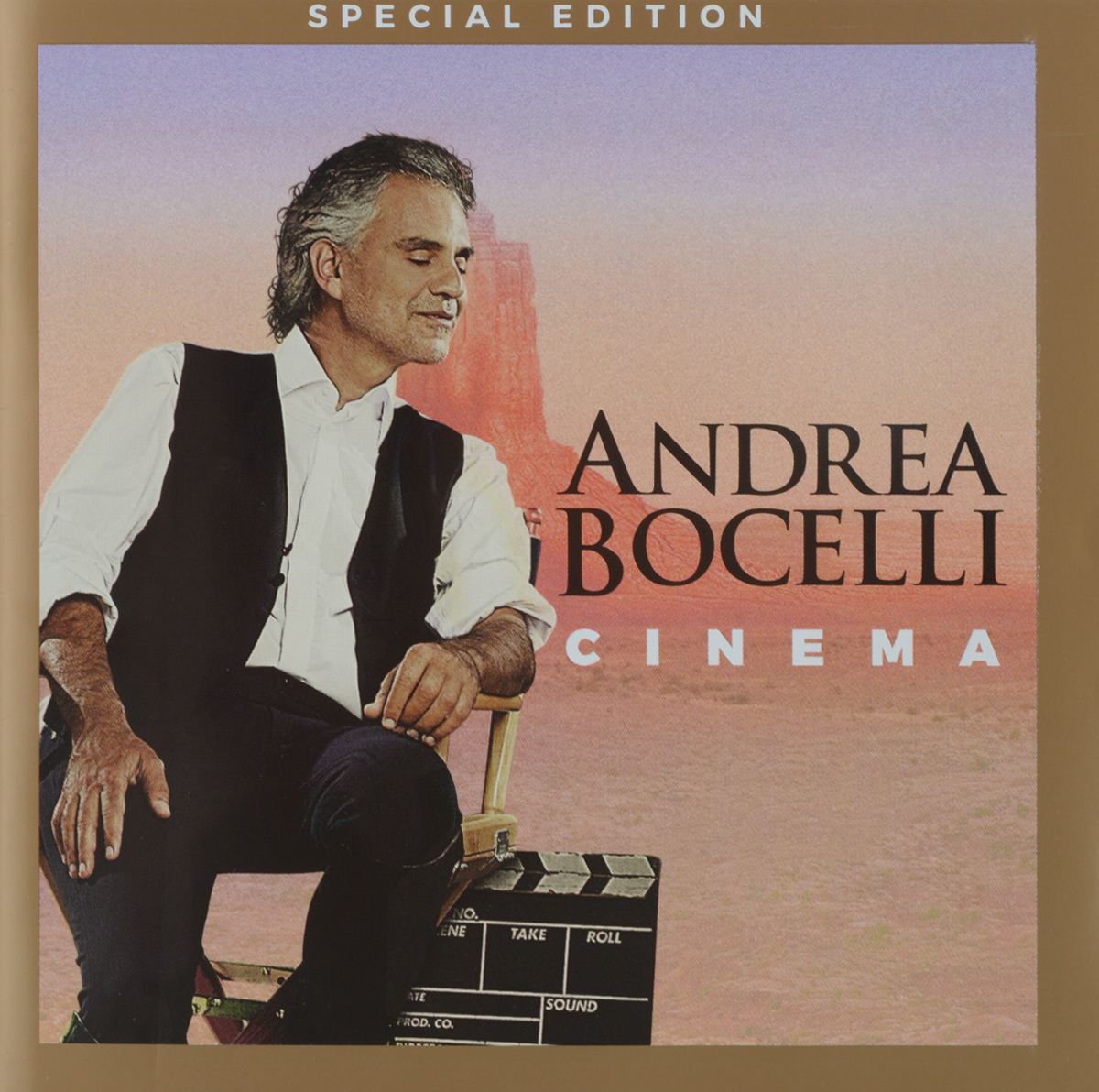 Андреа Бочелли Andrea Bocelli. Cinema (+DVD) бочелли андреа музыка тишины