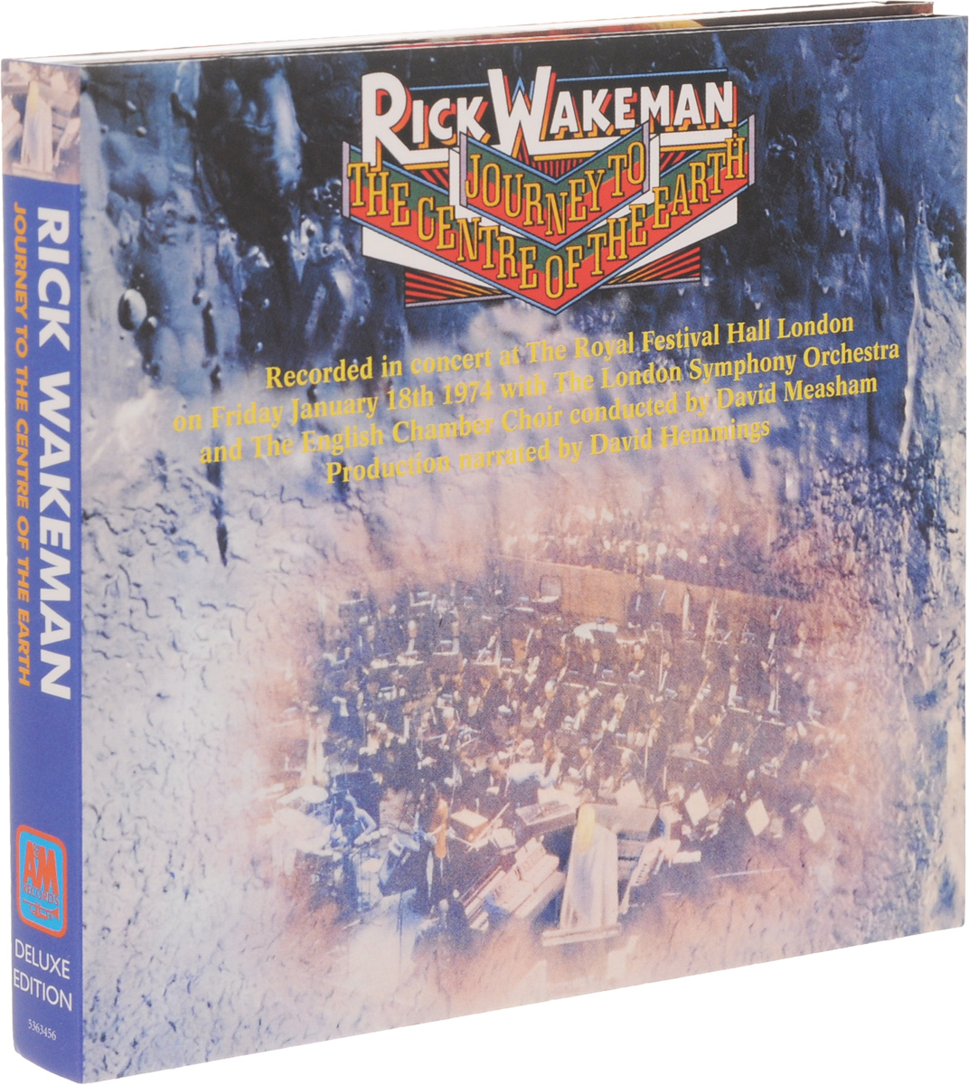 Рик Уэйкман Rick Wakeman. Journey To The Centre Of The Eart. Deluxe Edition (CD + DVD) notte magica a tribute to the three tenors deluxe cd dvd