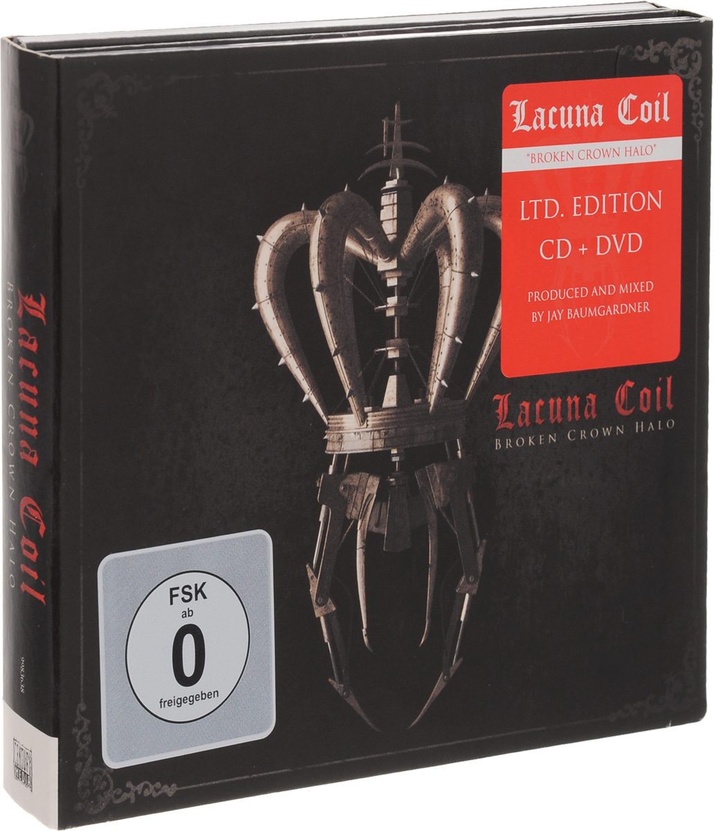 Lacuna Coil Lacuna Coil. Broken Crown Halo (CD + DVD) sirenia heavenwood therion tristania lacuna coil amorphis to die for tiamat theatre of tragedy moonspell the kovenant evereve samael virgin black dark nights best in gothic metal
