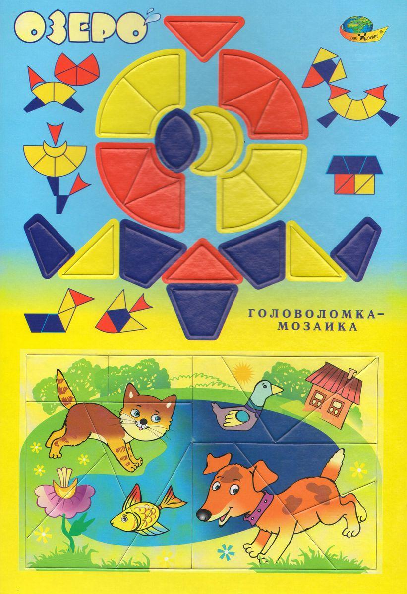Корвет Обучающая игра Головоломка-мозаика Озеро корвет обучающая игра математический планшет для малышей