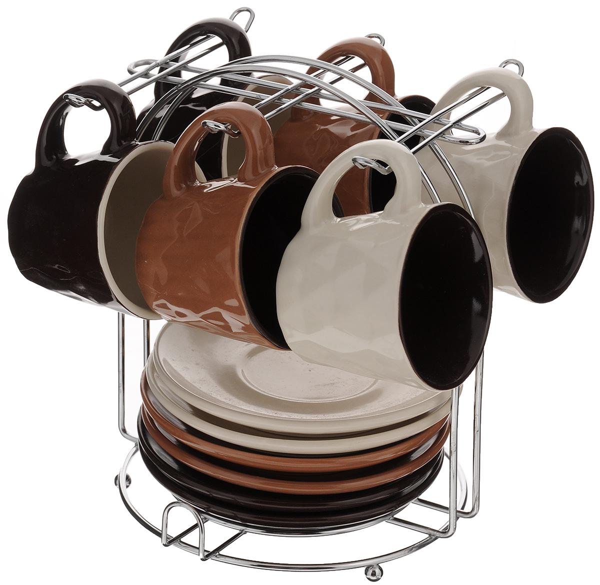 Фото - Набор кофейный Loraine, 13 предметов. 24668 [супермаркет] jingdong геб scybe фил приблизительно круглая чашка установлена в вертикальном положении стеклянной чашки 290мла 6 z