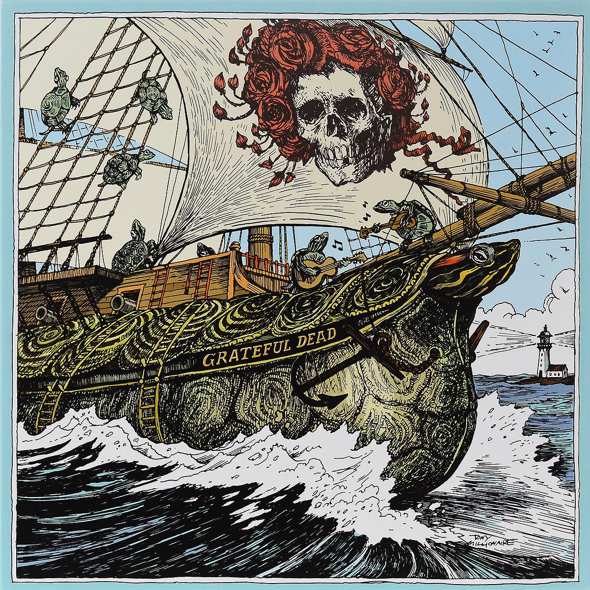 """""""The Grateful Dead"""" Grateful Dead. Capitol Theatre, Passaic, NJ, 4/25/77. Limited Edition (4 LP)"""