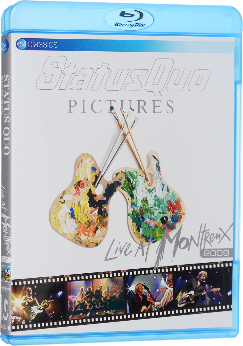 Status Quo. Pictures: Live At Montreux 2009 (Blu-Ray) цена
