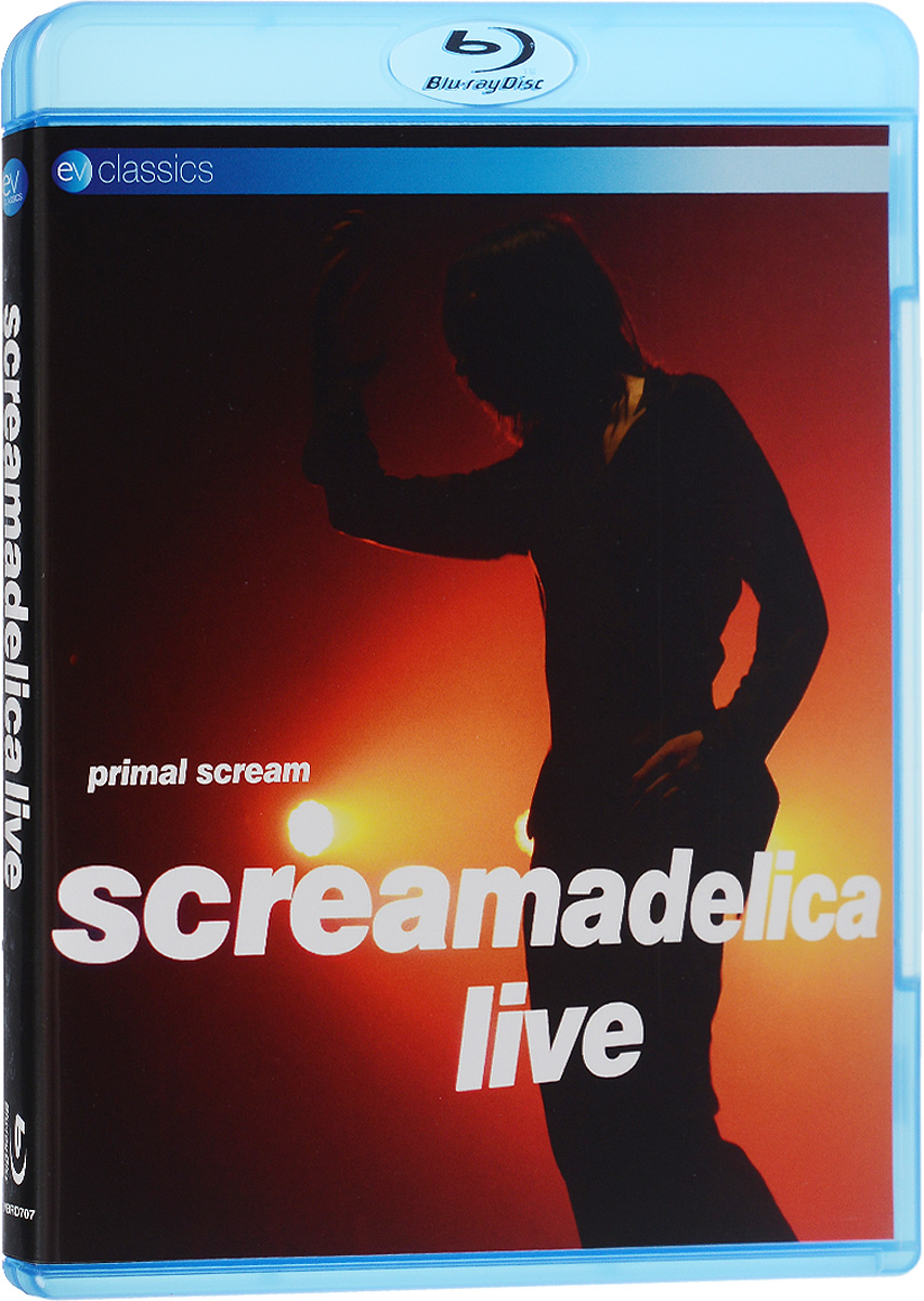 Primal Scream. Screamadelica Live (Blu-ray) primal scream screamadelica live