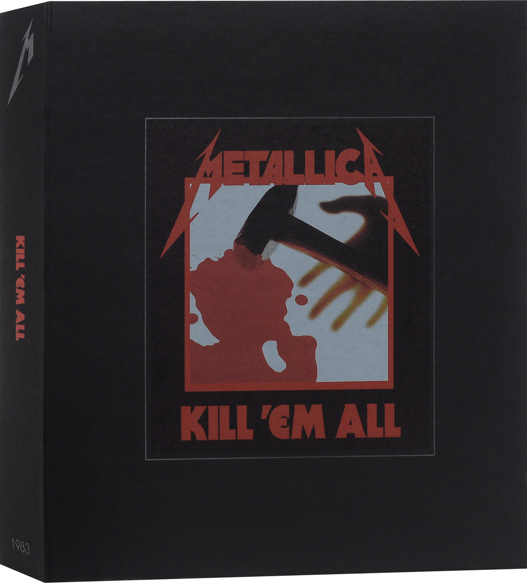 """Metallica"" Metallica. Kill 'Em All (3 LP + 5 CD + DVD)"