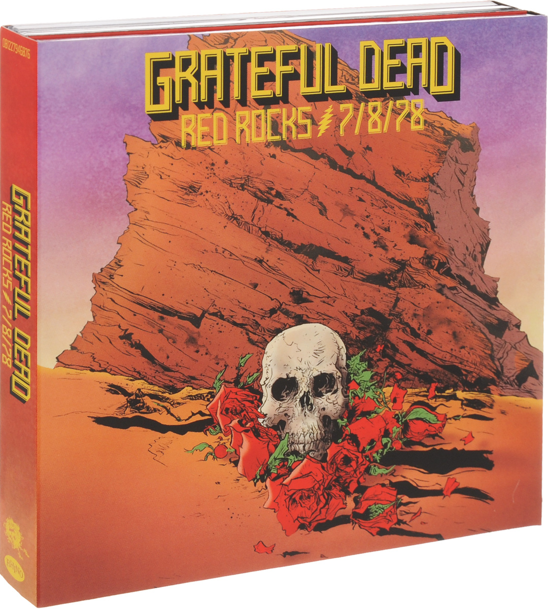 """""""The Grateful Dead"""" Grateful Dead. Red Rocks (3 СD)"""