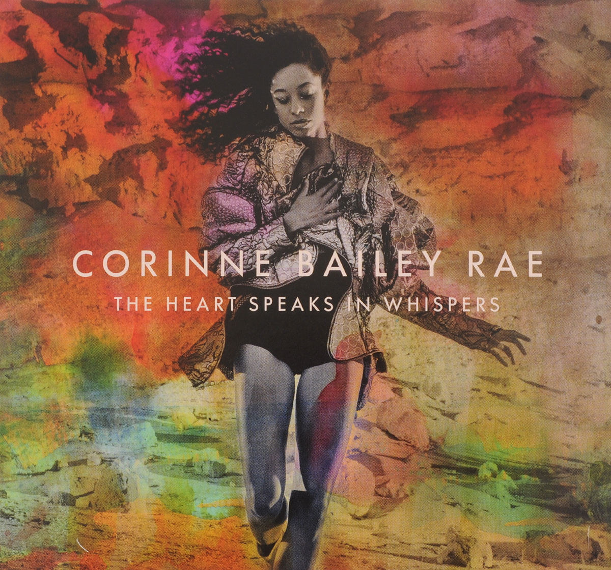 Коринн Бэйли Рэй Corinne Bailey Rae. The Heart Speaks In Whispers (CD) nina rae springfields the power of hope