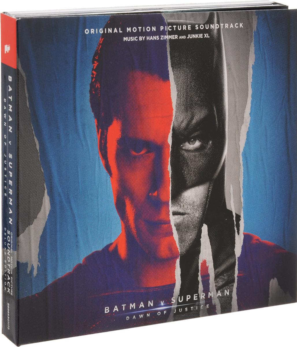 Hans Zimmer, Junkie XL. Batman V Superman. Dawn Of Justice. Original Motion Picture Soundtrack. Deluxe Edition (2 CD) interstellar original motion picture soundtrack music by hans zimmer