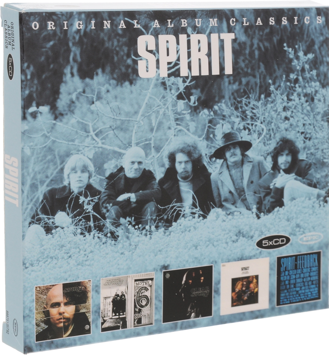 Spirit Spirit. Original Album Classics (5 CD) цена и фото