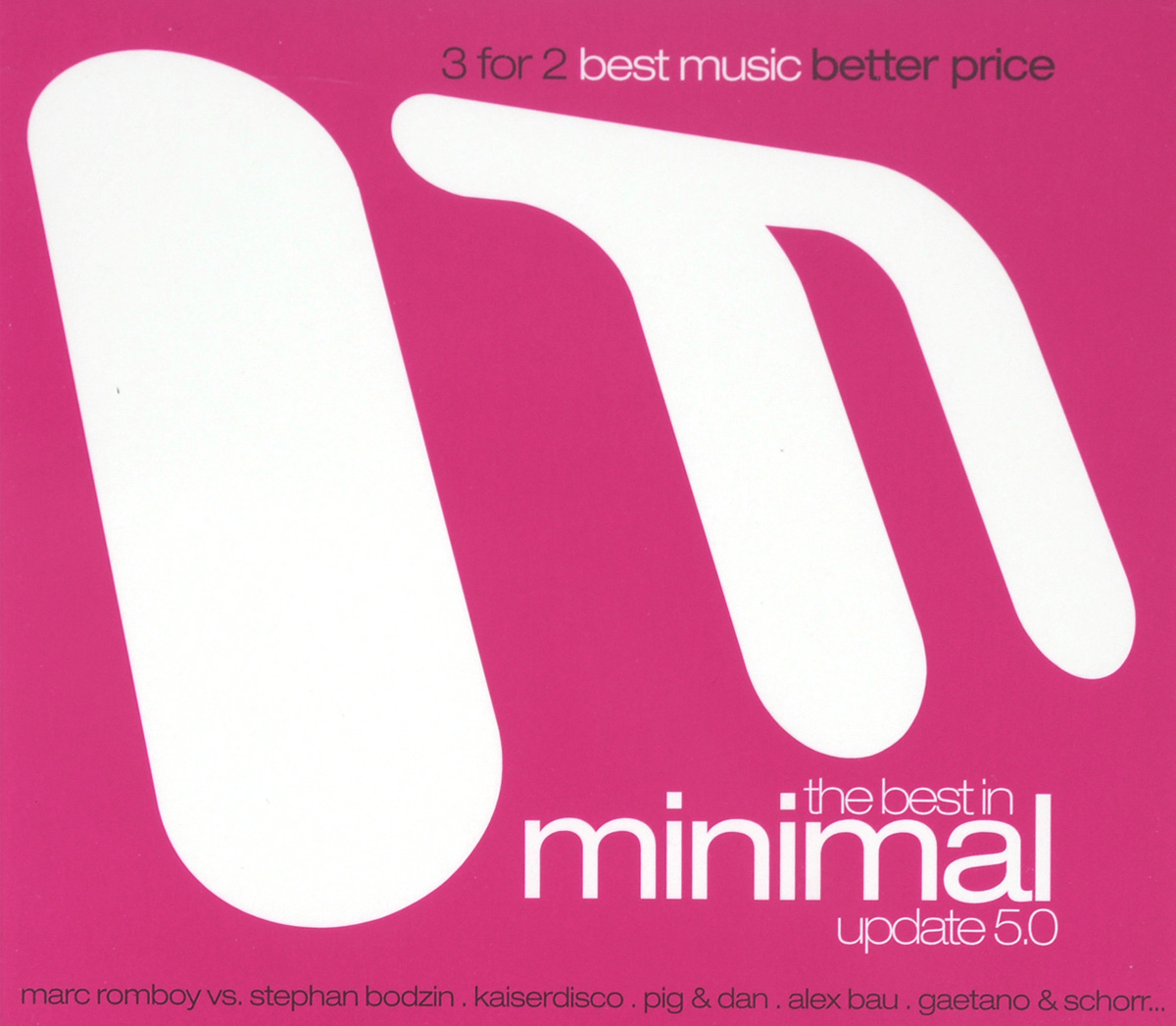 The Best In Minimal Update 5.0 (3 CD) михаил плетнев филип лейджер роджер норрингтон джон нельсон сабин мейер best adagios 50 3 cd